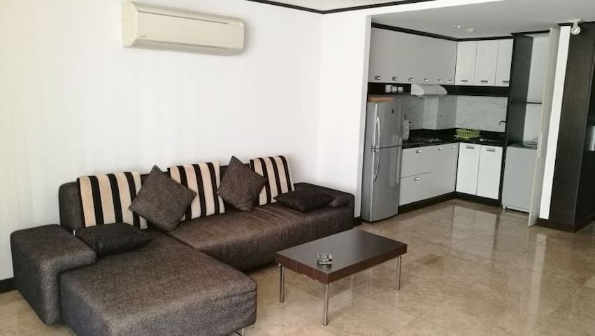 Top location Large luxury One bedroom Apt. - Bangkok - Apartment