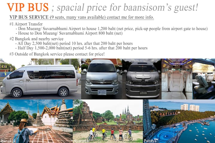 VIP Bus spacial price!
