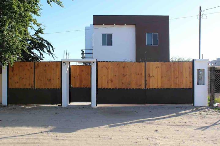 Duplex vacacional, Planta Baja