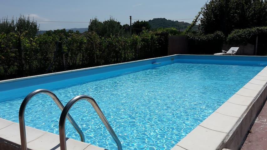 """""""Il PostoVerde"""" Casa in campagna con piscina Sol04"""