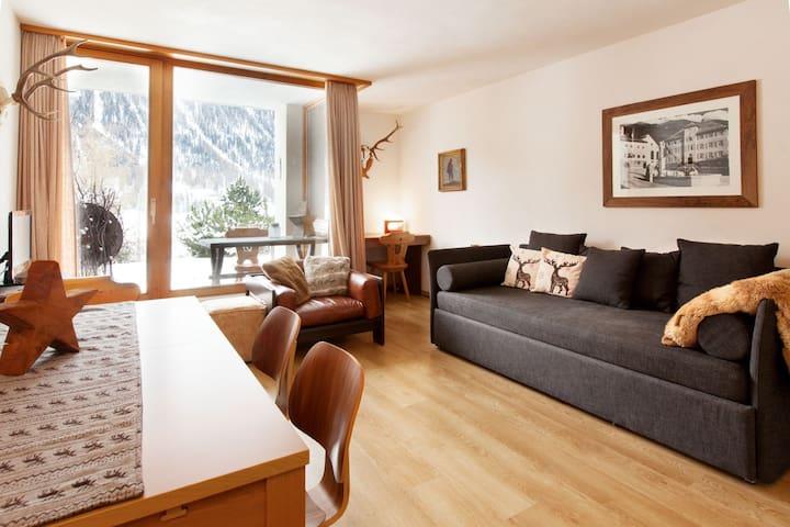 Apartment in Zuoz (St. Moritz)