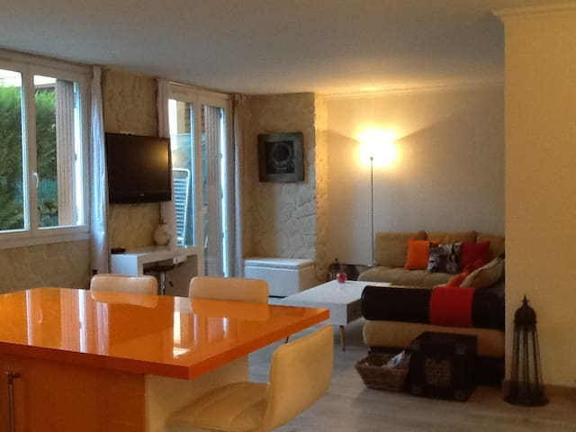 Très bel appartement avec jardin. 3mn du métro ! - Vincennes - Condominium
