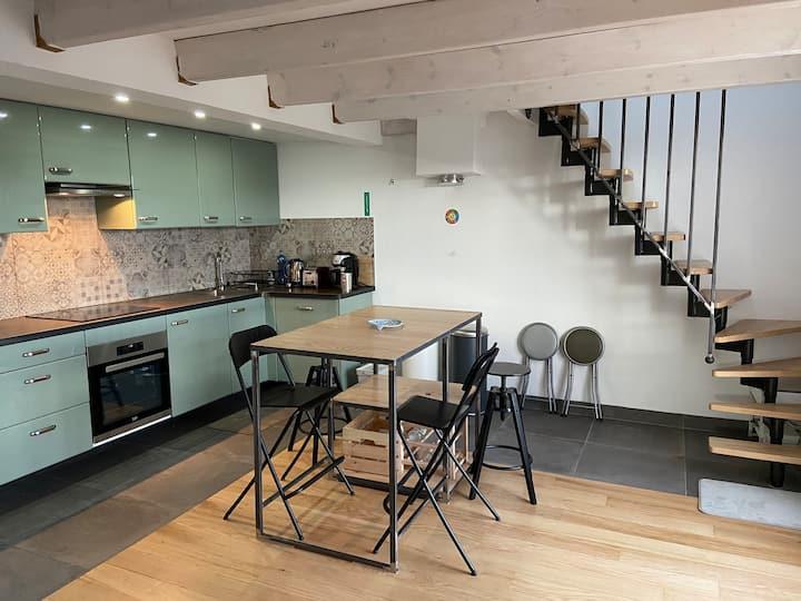 Grand appartement de standing refait a neuf