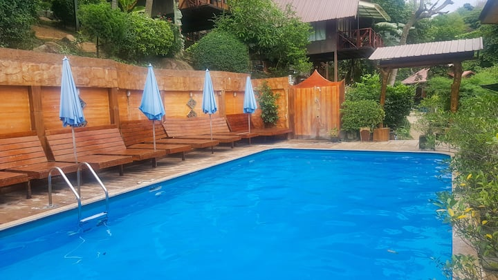 Direct Pool Access Phi Phi Double!
