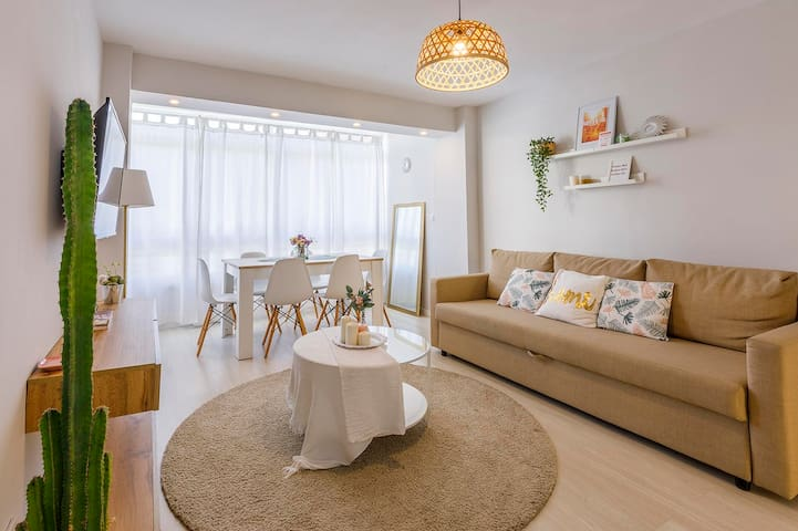 A&N Duque 1, apartamento céntrico, 2 dormitorios,wifi gratis