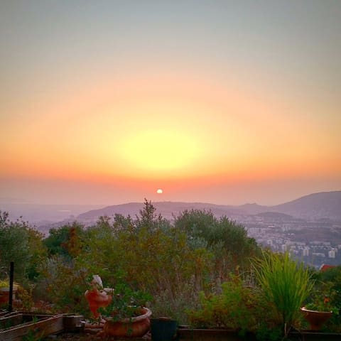 Magical view, private apartment in the Galilee - Mikhmanim - Byt
