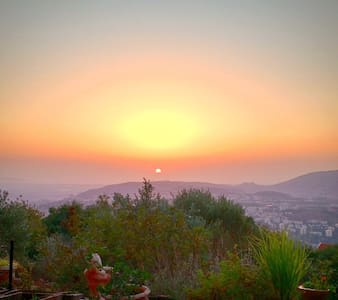 Magical view, private apartment in the Galilee - Mikhmanim - Appartement