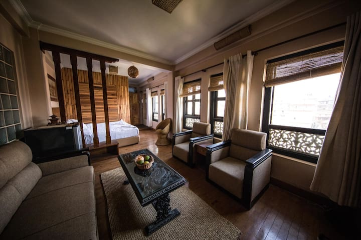 Spacious Room w/ private wc and beautiful view