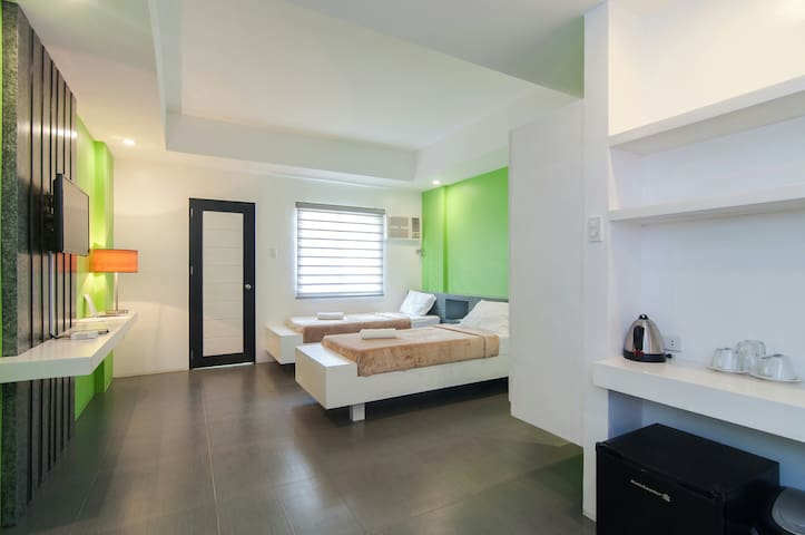 Deluxe Twin Room w/ Balcony BFAST for 2 included