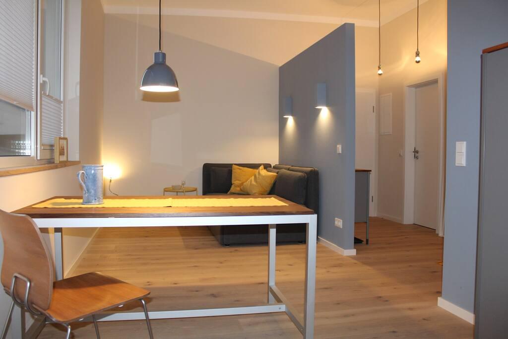 ferienwohnung messewohnung kelkheim frankfurt loft in affitto a kelkheim taunus hessen. Black Bedroom Furniture Sets. Home Design Ideas