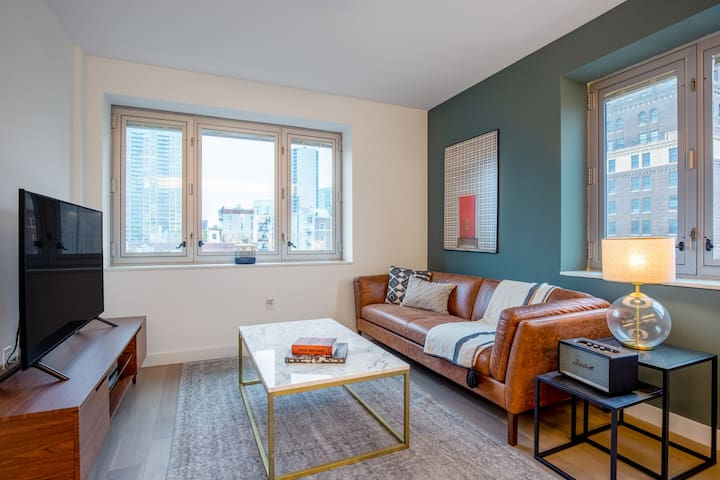 Smart Brooklyn Heights 1BR w/ Gym, W/D in-unit, Rooftop, by Blueground