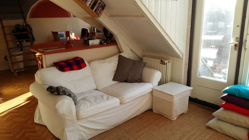 Cosy appartment on the 2nd floor - Amersfoort - Apartamento