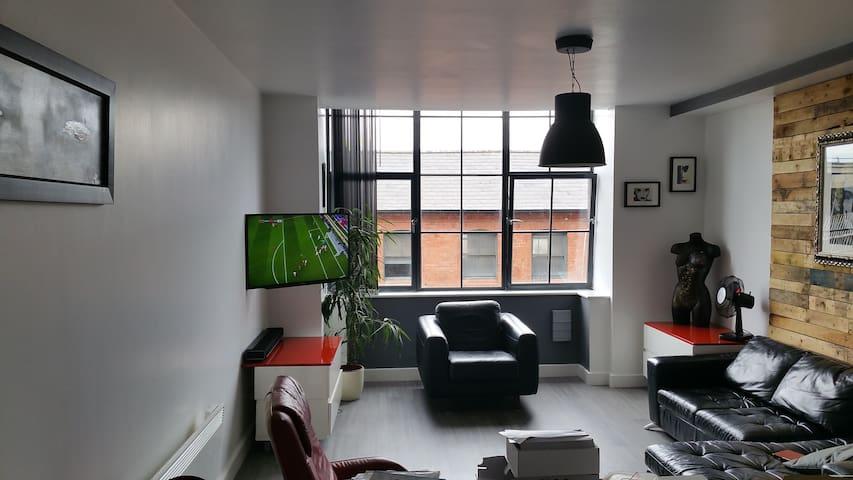 Central Birmingham loft style apartment - Birmingham - Wohnung