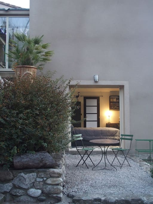 La petite terrasse privative