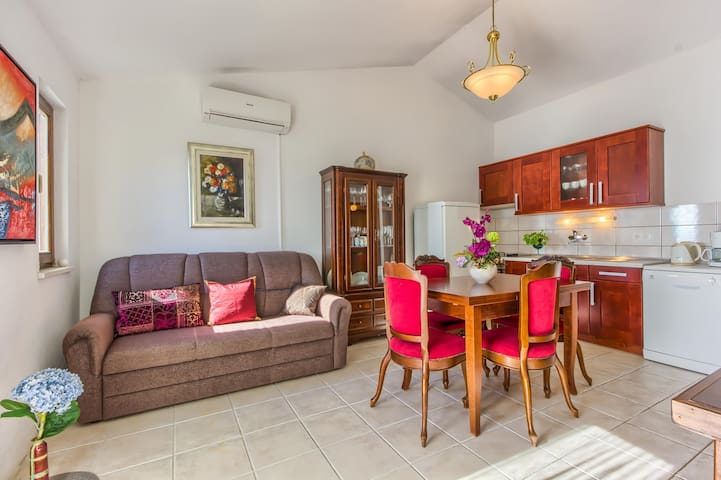 Classic two bedroom apartment in Rogoznca - Zecevo Rtic - Appartement
