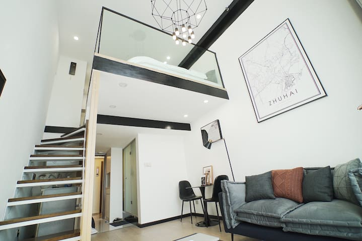Miu's house-轻奢现代|港珠澳大桥|拱北|长隆|富华里|御温泉|横琴|情侣路|香港|澳门
