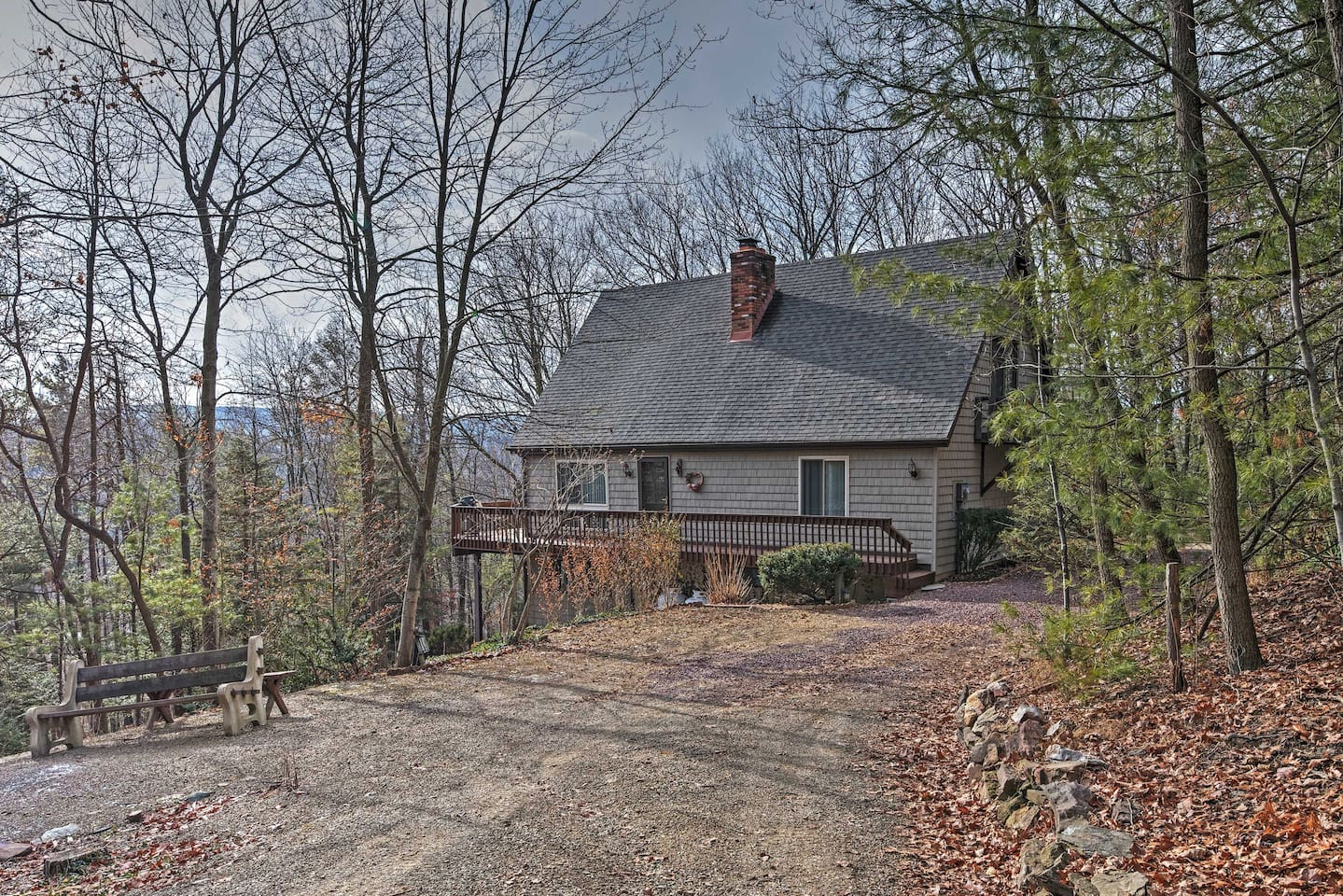 Escape to this charming Palmerton 3BR Chalet.
