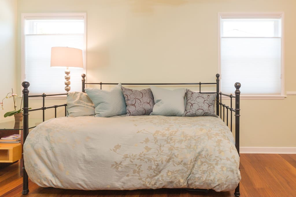 Comfortable twin bed - my sister always comments how comfortable it is