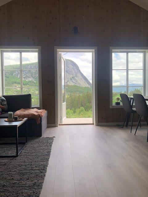 Nieuwe hut op Brokke!