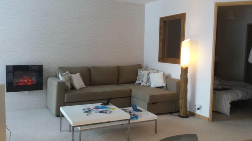 ARC 2000, GRAND APPT 9 PERSONNES, SKIS AUX PIEDS - Bourg-Saint-Maurice - Apartamento