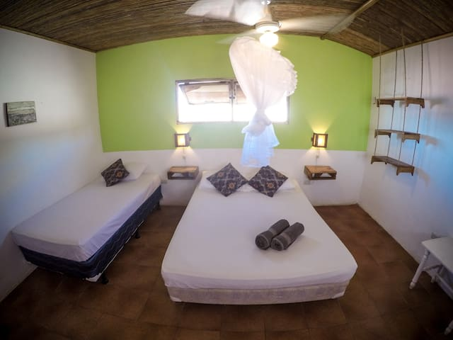 Triple room in the best location! - Las Peñitas - Huis