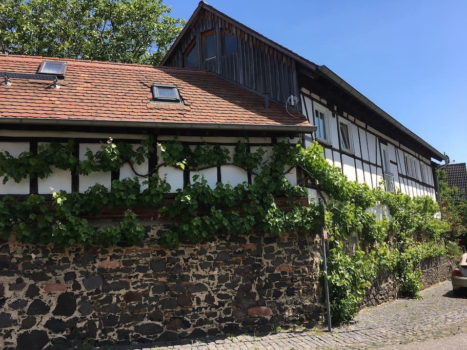 Historische Hofreite