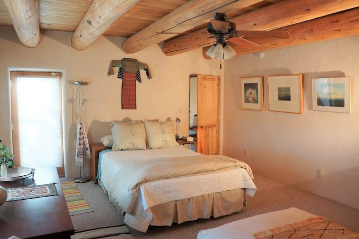 Rejuvenating Adobe Nirvana Room on the River Trail