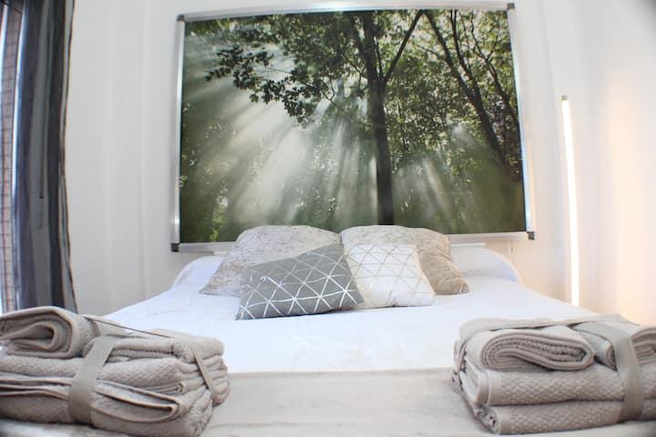 Encantador Hogar Centro, 3 Dormitorios WIFI