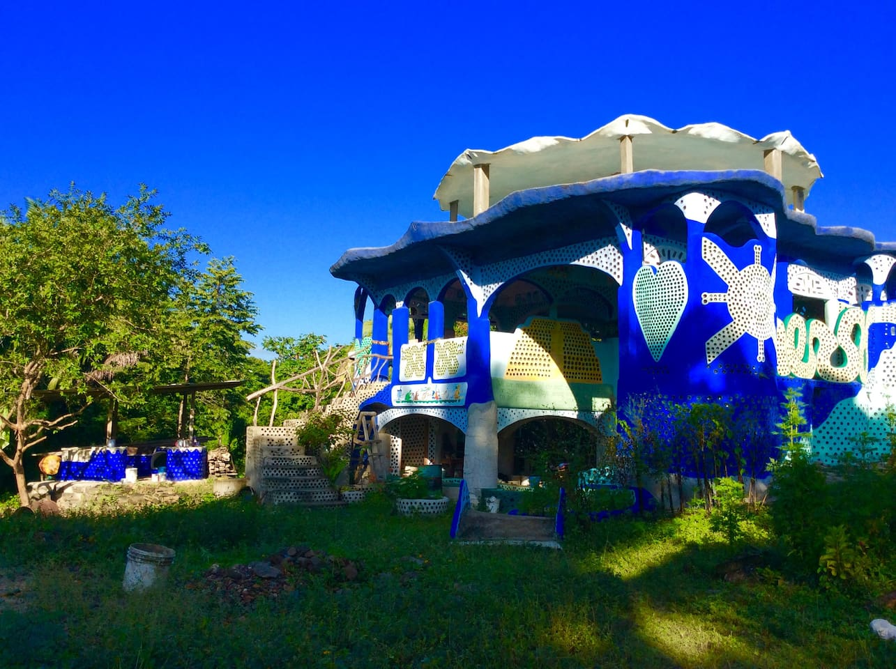 The Earthship, an ongoing labor of love