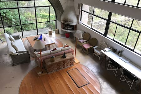 Beautiful cabin in the woods - Mineral del Chico - Natuur/eco-lodge