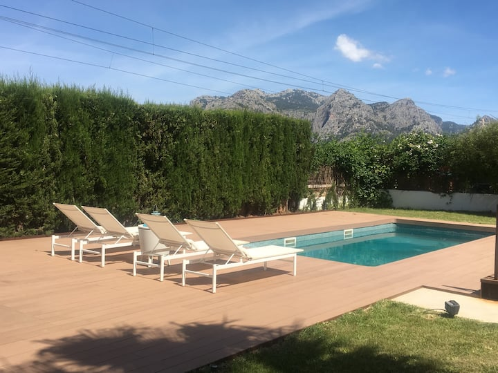 Nice villa perfect for families & cyclists