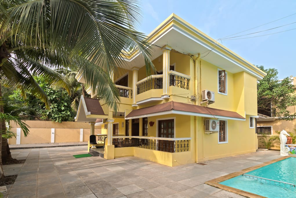 Villas For Rent In Goa For  Days