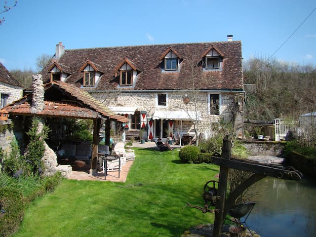 water mill/swimming/fishing/ AUTUN/ BEAUNE/ DIJON - Arnay-le-Duc - Dom