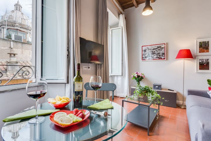Apartment for 2 in Campo de' Fiori | Int. 9