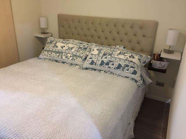 habitación principal cama king