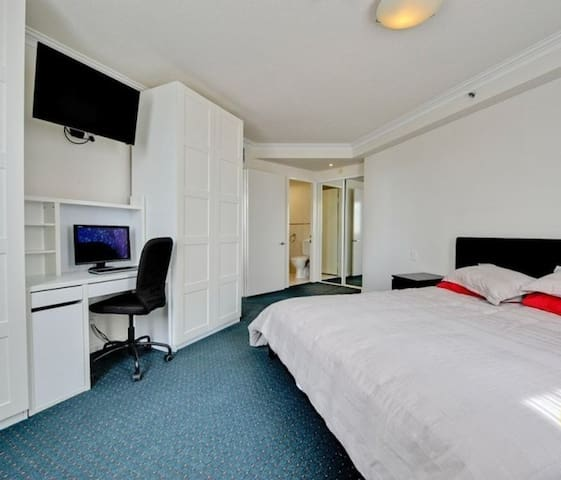 main bedroom & study
