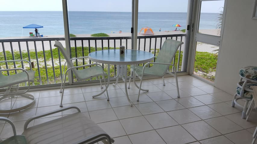 Great condo on beach with boat dock, , A202