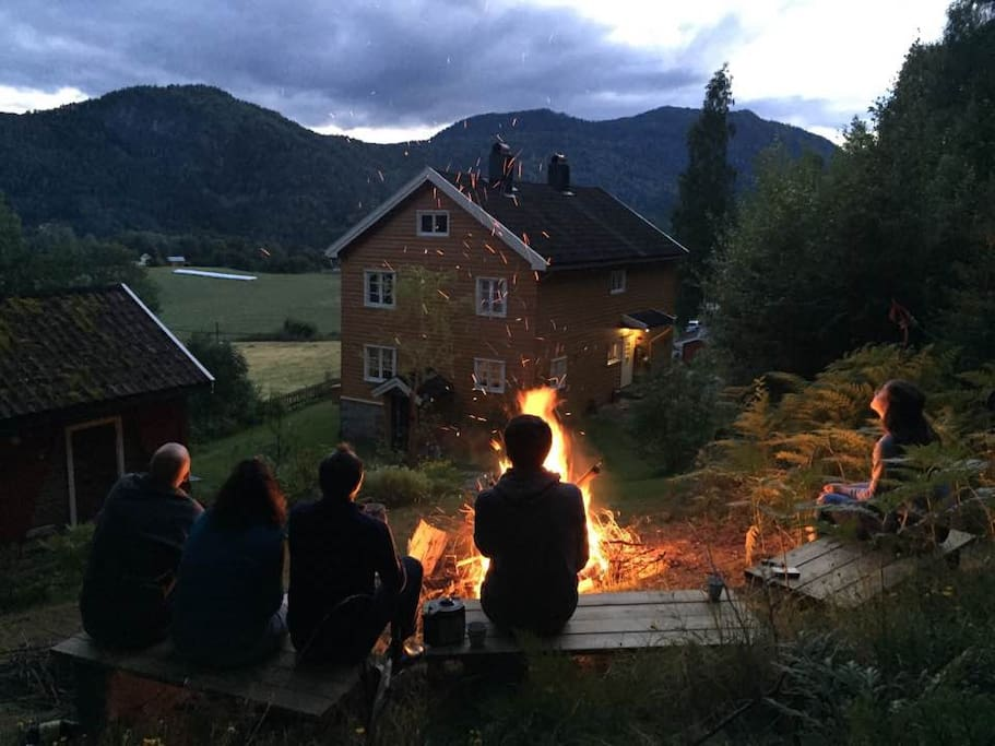 Stookplaats Make your campfire
