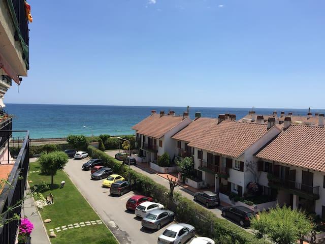 apartamento primera linea de mar en Cabrera de Mar