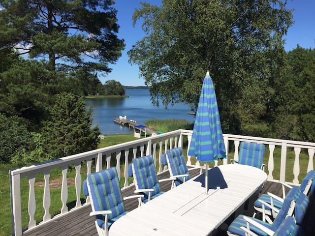 Seafront Country Villa on Island - Österåker V - Casa