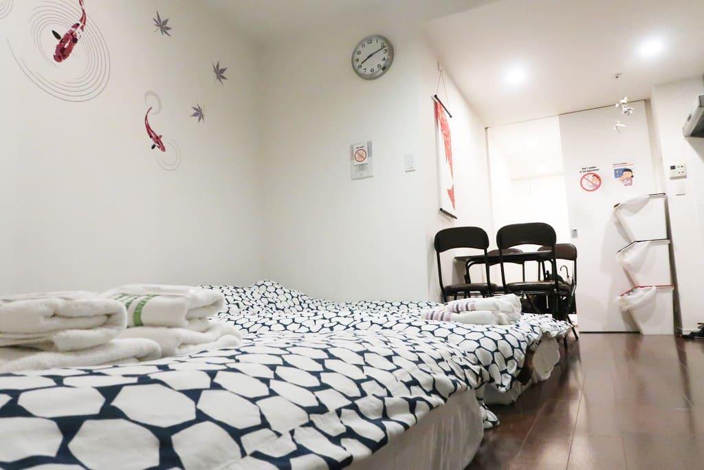 Modern comfortable room on Japan