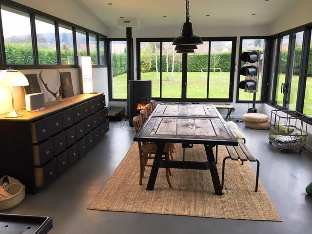 Grande maison cosy et moderne près de Giverny