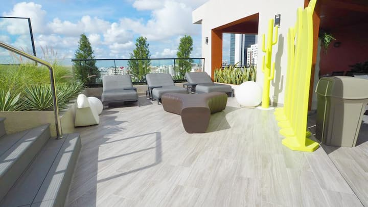 Gorgeous apartment an Amazing social area Piantini