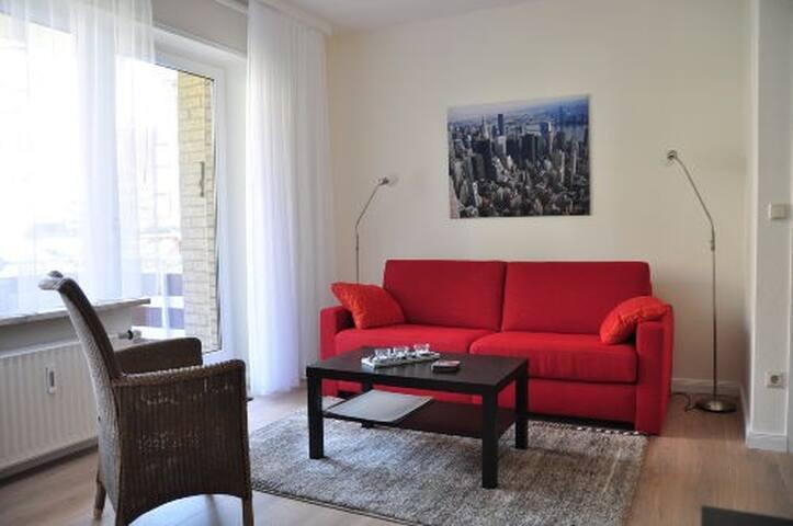 """Appartement """"kleine Insel"""" direkt am Meer - Timmendorfer Strand"""