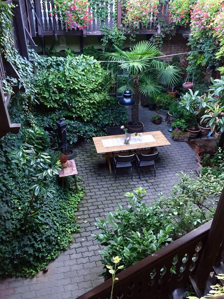 Mediterrán, egyedi hangulatú ház