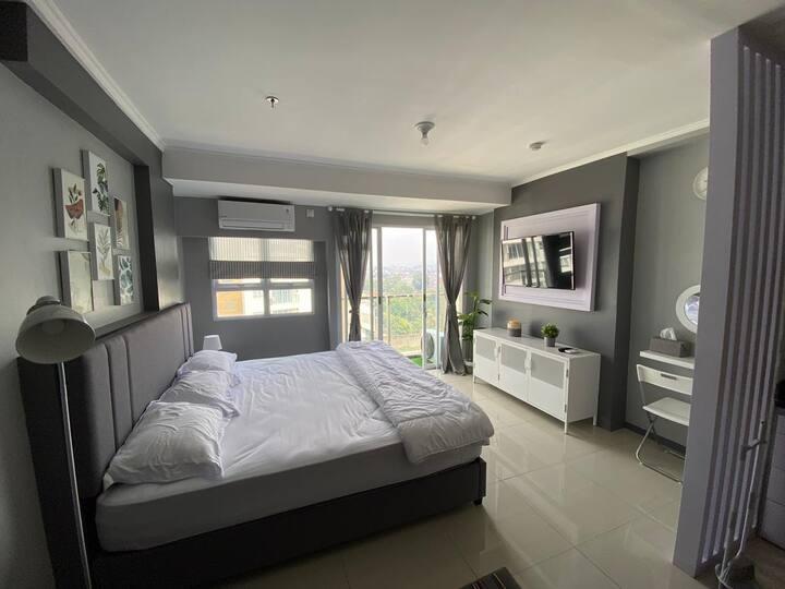 1 Bedroom @Gateway Pasteur Apartemen luxury room