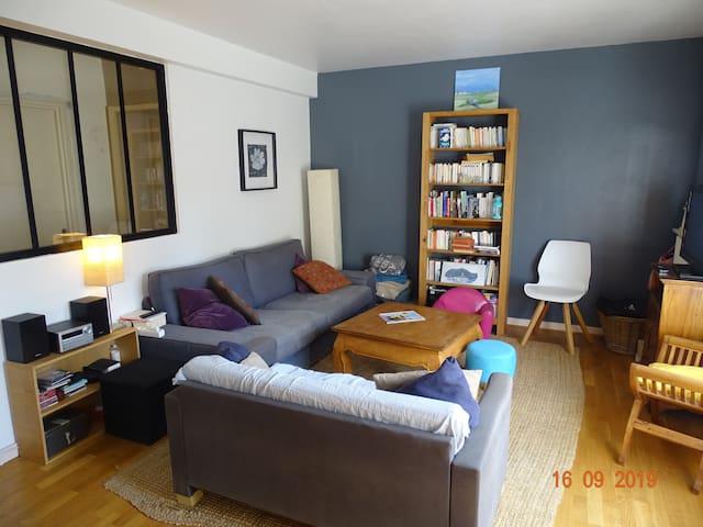 Chambre dans grand appartement cosy
