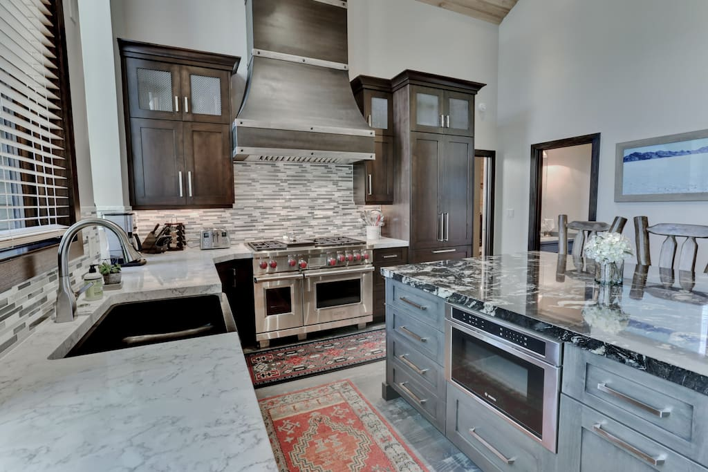 Remodeled kitchen is an absolute please to use