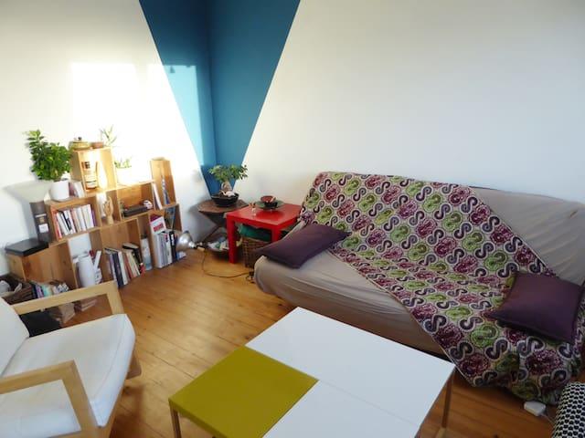 Chambre dans un bel appartement lumineux