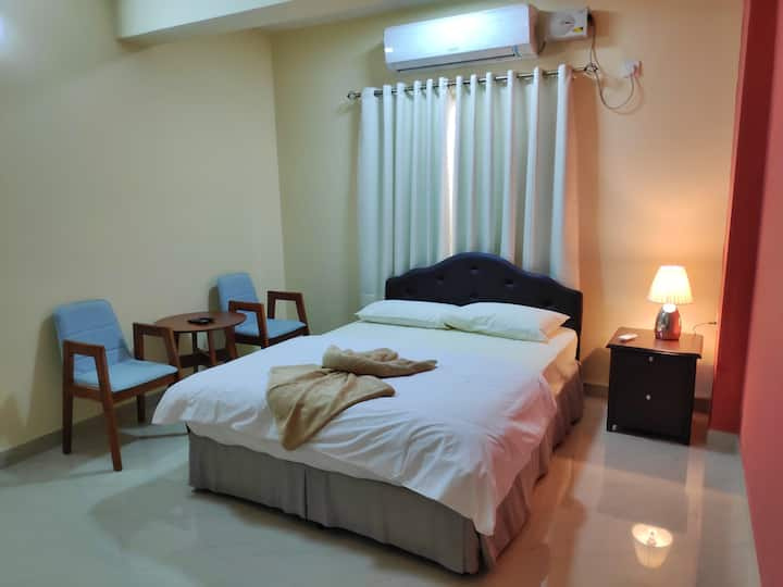 Cozy (Govt Approved) AC Studio Apartment in Panjim